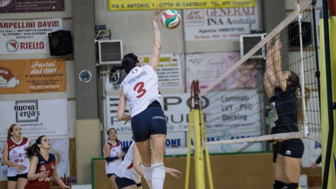 Netta vittoria del Volley Umbertide nel derby dell'Altotevere contro Trestina