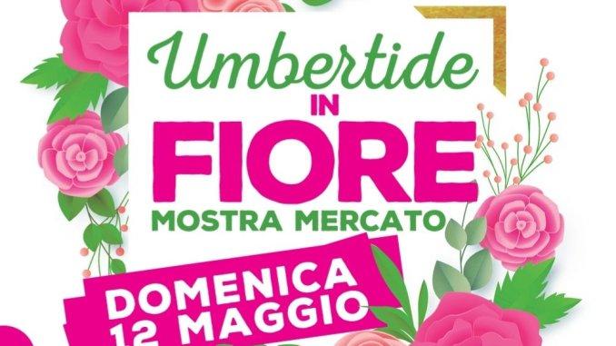 Umbertide in fiore, domenica 12 maggio, appuntamento da non perdere