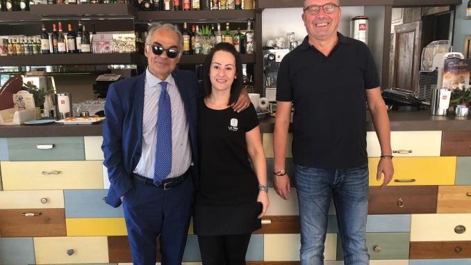 Marta Marroni giovane commerciante tifernate ci prova, il sindaco va da lei