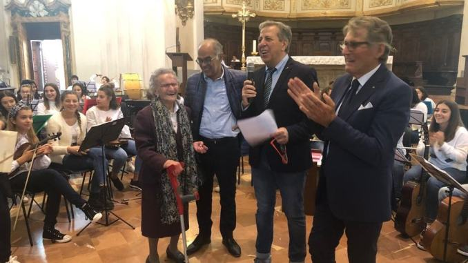 Anche Luisa Zappitelli, 108 anni, alla festa dei nonni a Città di Castello