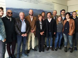 Tour elettorale di Donatella Tesei in Alto Tevere a Umbertide