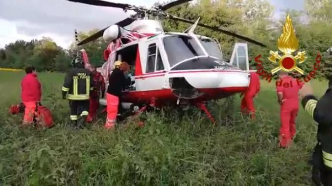 Cade da un ponte a Trestina, grave uomo di circa cinquanta anni