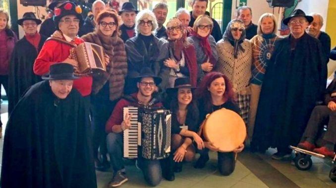 I canti e la musica della Pasquella alla Muzi Betti a Città di Castello