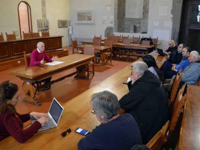 Città di Castello, Domenichini PD passa al gruppo misto