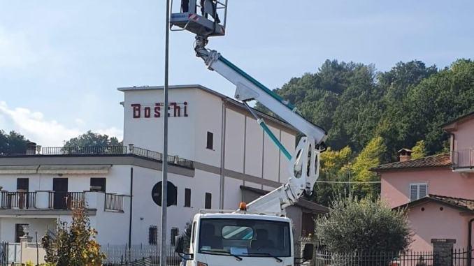 Citerna, nuova luce a Fighille, il Comune installa lampioni LED