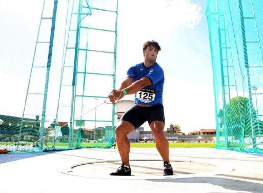 Atletica: Gregorio Giorgis con il suo martello vola ai mondiali juniores