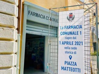 Giovedì 1° aprile Farmacia Comunale 1 torna nella sede di piazza Matteotti