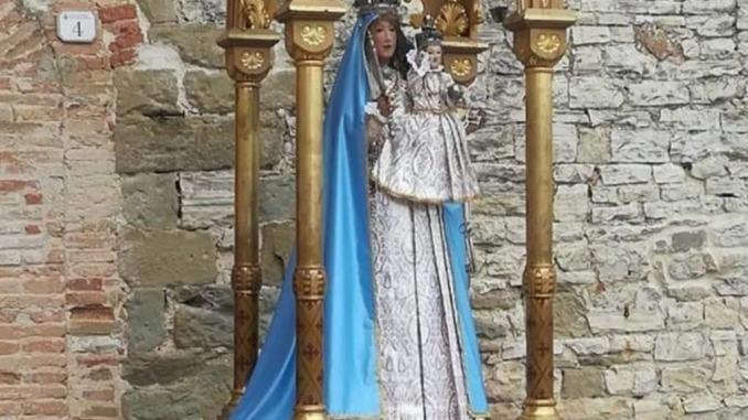 Monte Santa Maria Tiberina: al via restauro venerata statua della Madonna