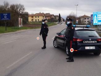 Carabinieri, controlli nel fine settimana, due persone denunciate
