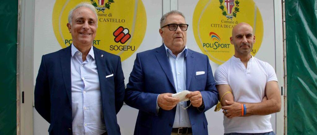 Città di Castello, inaugurati i nuovi campi da tennis con il torneo Open Umbria