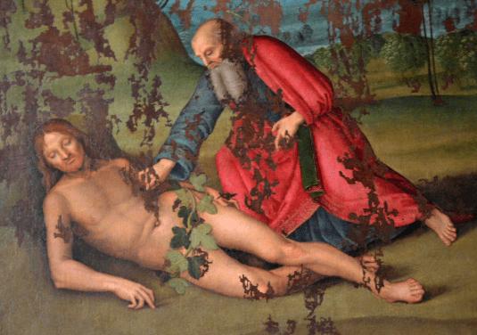 Concluso il restauro sullo Stendardo Processionale di Raffaello