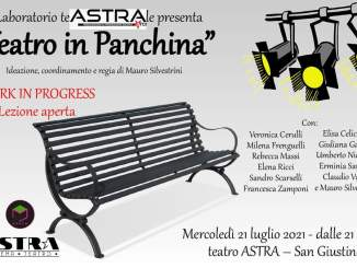 Teatro in panchina, al teatro Astra di San Giustino lezione aperta