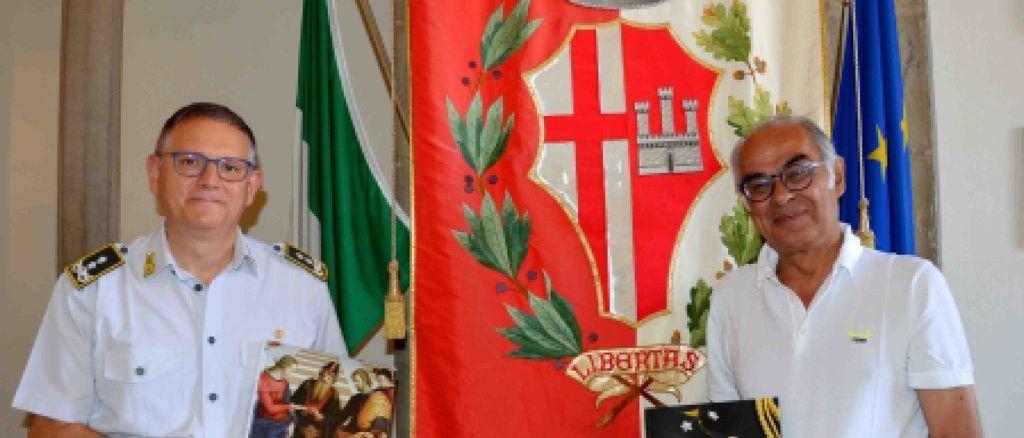 Finanza, Generale Lipari incontra sindaco di Città di Castello
