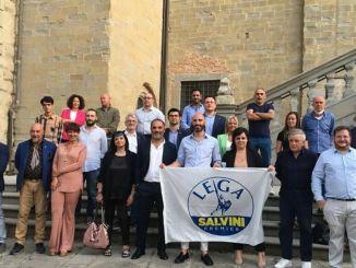 La Lega ha presentato la lista dei 24 candidati a sostegno di Roberto Marinelli