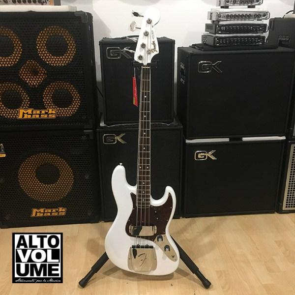 Fender Jazz Bass 60th Anniversary white pearl