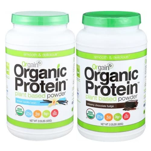 orgain protein powder review - is it a good organic plant supplement?