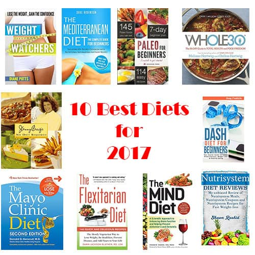 10 Best Diets for 2017