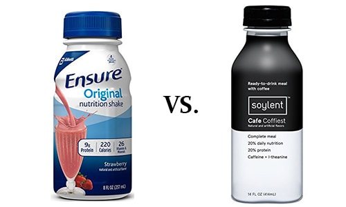 soylent vs ensure: which is the better for you