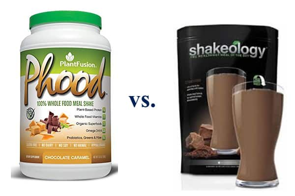 plantfusion phood vs shakeology: which one is better