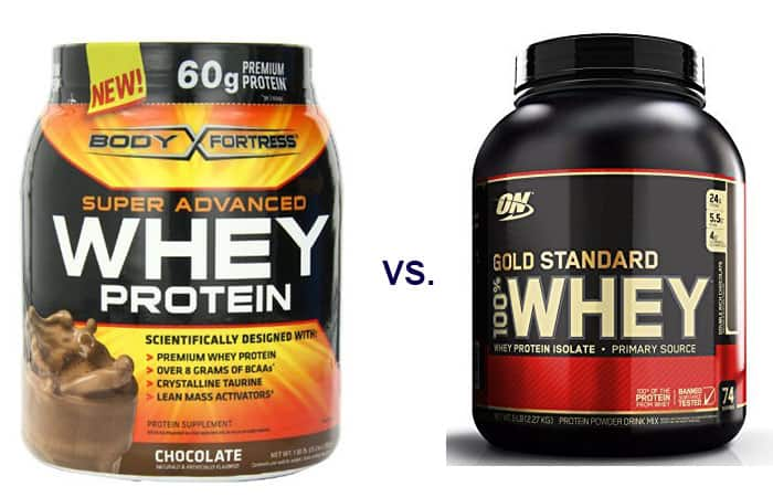 Body Fortress Whey vs Gold Standard Whey