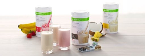 herbalife in glass