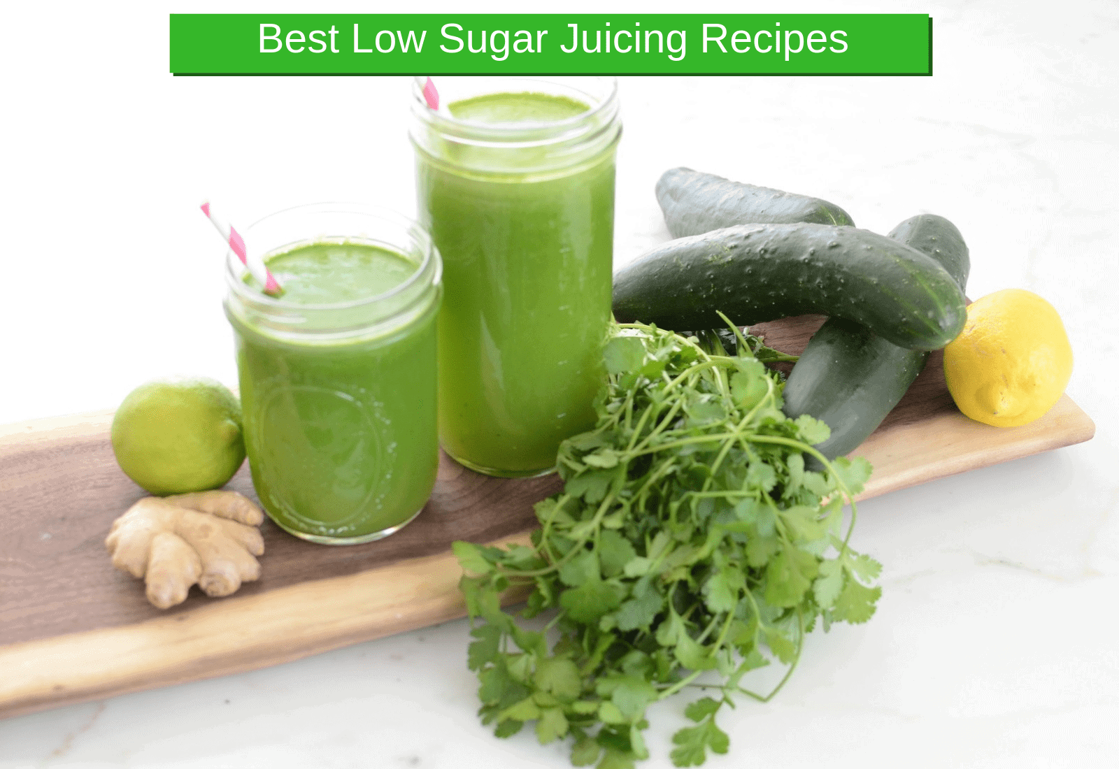 best low sugar juicing recipes