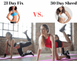 21 Day Fix vs 30 Day Shred: Which One Gets Results?
