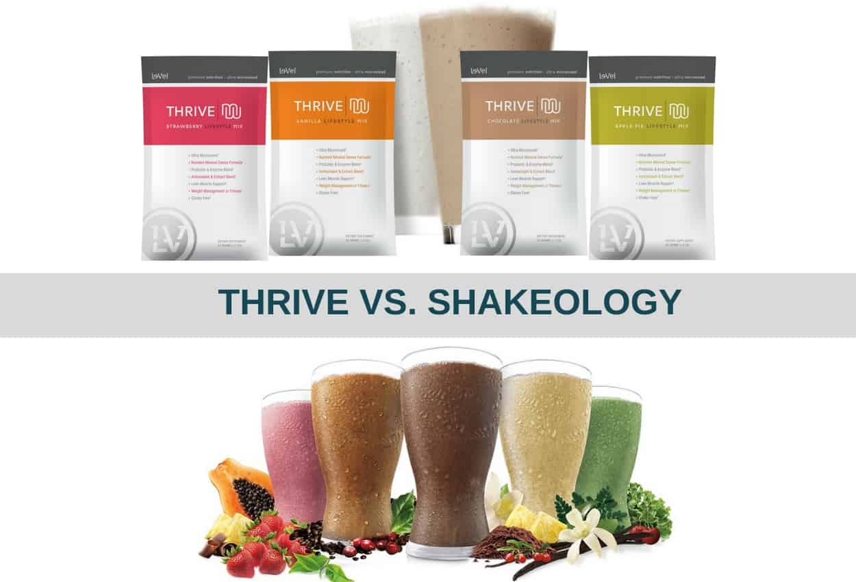 thrive vs shakeology