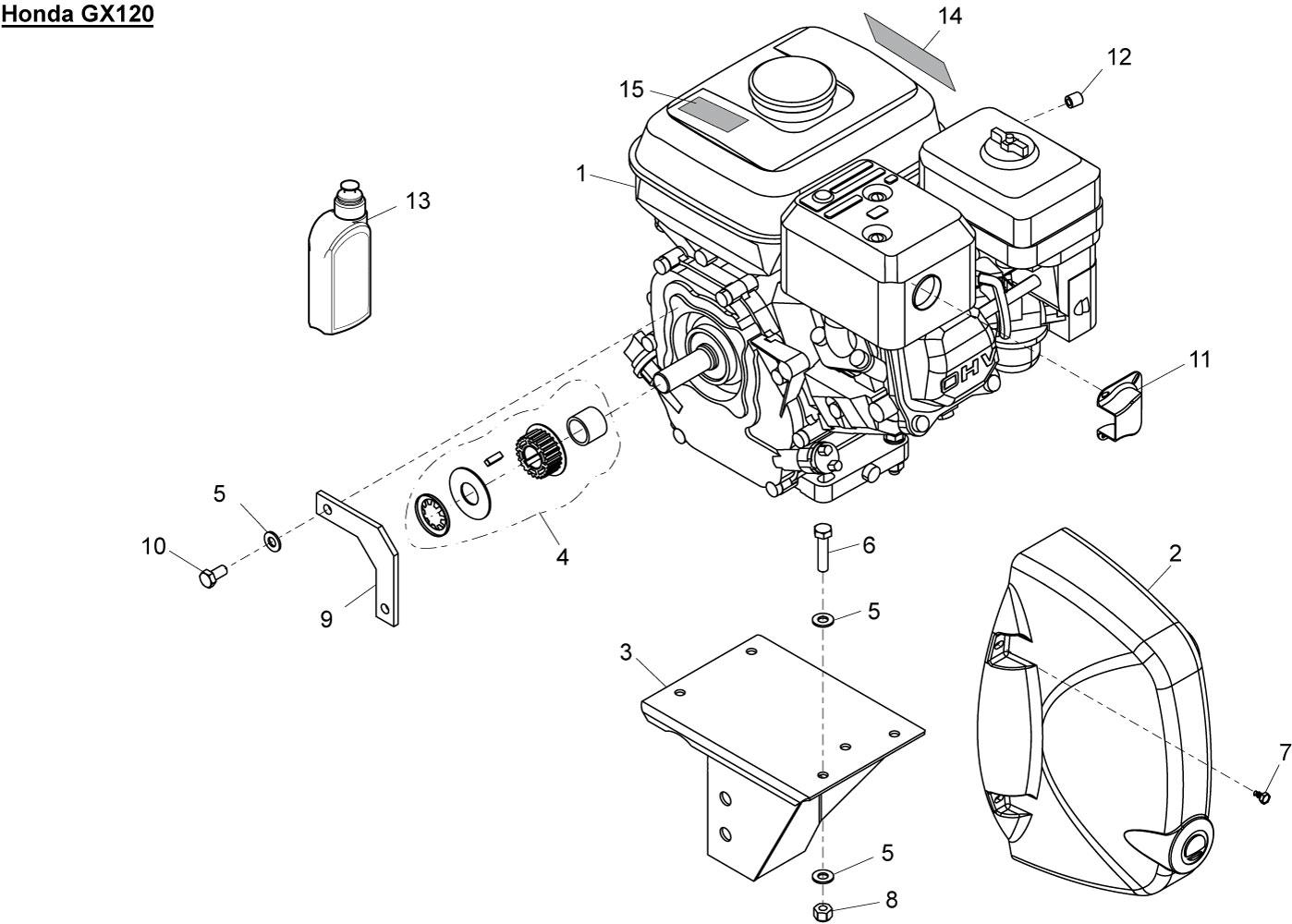 Altrad Belle Belle Spare Parts Minimix 150