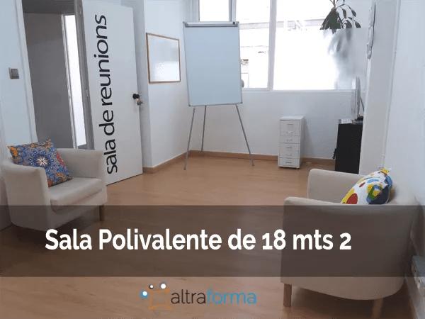 alquiler de salas para terapias en Barcelona