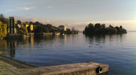 Herbstpaziergang am Lago Maggiore