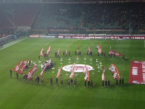 Milan Napoli 2008