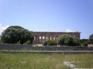 """Paestum - """"Basilica"""" (Heratempel I)"""