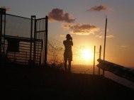 Sonnenuntergang am Leuchtturm von Capo Palinuro