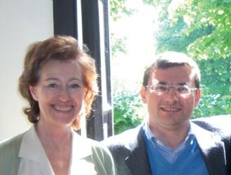 Die Mailänder Bürgermeisterin (und Tochter eines in Dachau ermordeten Partisanen) Letizia Moratti mit dem Neofaschisten Roberto Jonghi Lavarini.