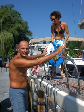 Paolo Chiarini: 66 km Lago Maggiore durchschwimmen