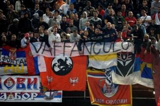Italien-Serbien Ausschreitungen
