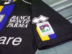 Parma-Trikot mit Fondazione Matteo Bagnaresi
