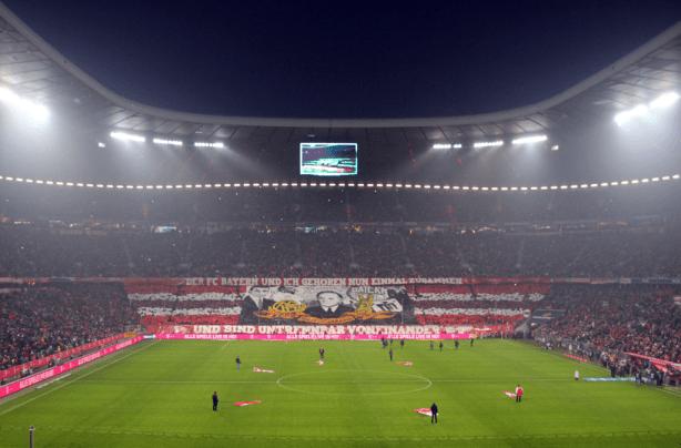 Choreografie Schickeria Bayern München