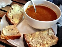 spicy-african-potato-soup-and-buttered-crusty-bread