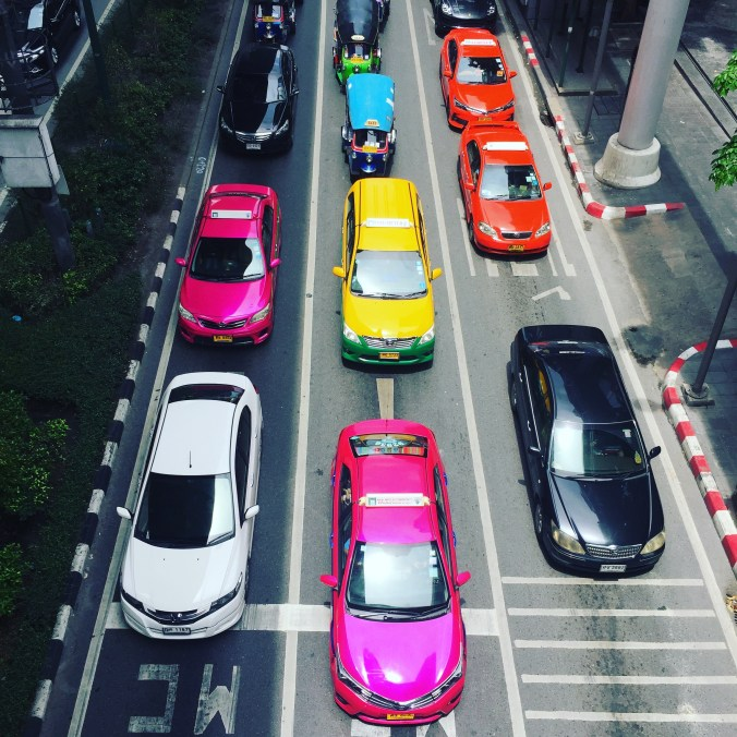 Traffic-jams-in-Bangkok
