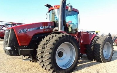 Case IH Steiger 385 Tuned For Power and Economy