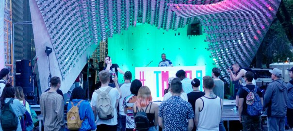 NTMF Cube Stage 2019
