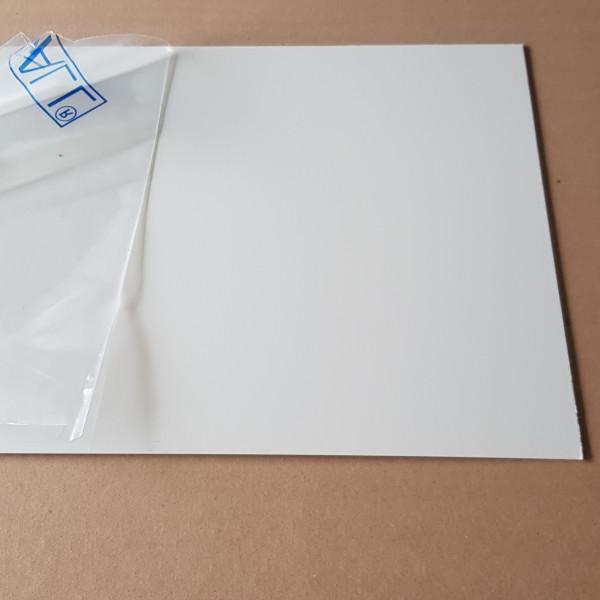 plaque aluminium blanc securite ral 9003
