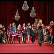 Iluminación desfile de moda lamparas de cristal fashion show catwalk RAAK