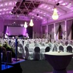 Iluminação lustres casamento iluminar a tenda
