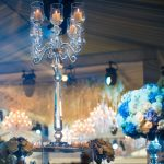 Casamento Asiático de luxo com lustres
