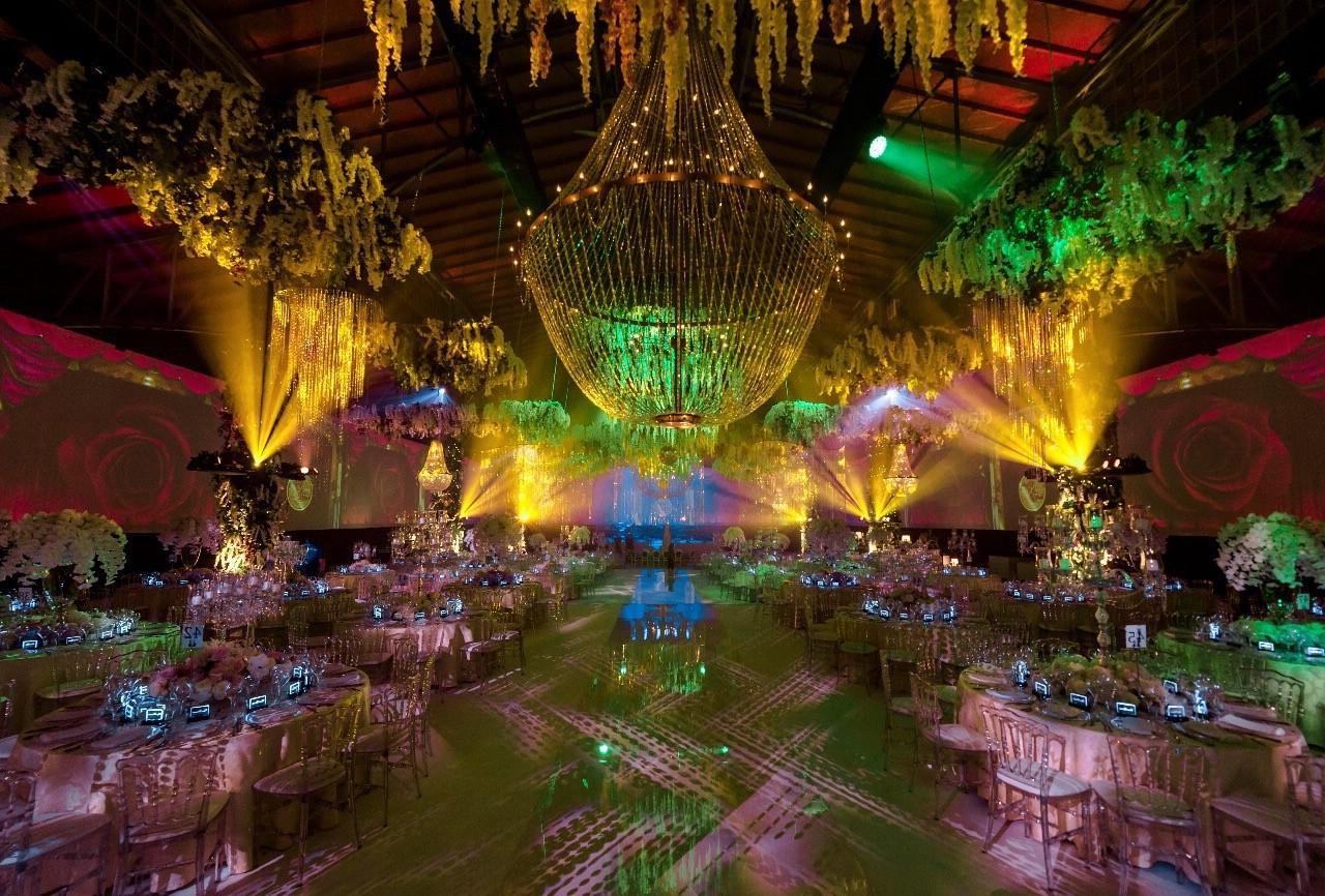 lustres casamento india