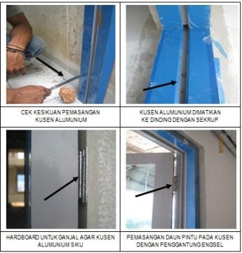 gambar pemasangan kusen aluminium 0