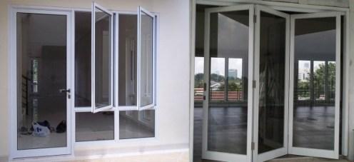 gambar pintu jendela minimalis aluminium 0